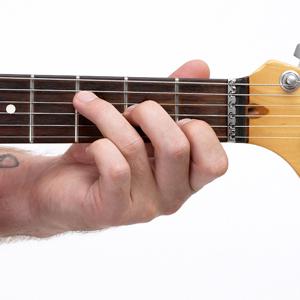 F major 7 chord