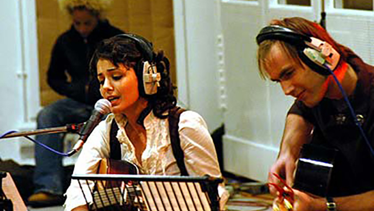 Recording at Abbey Road Studio with Katie Melua